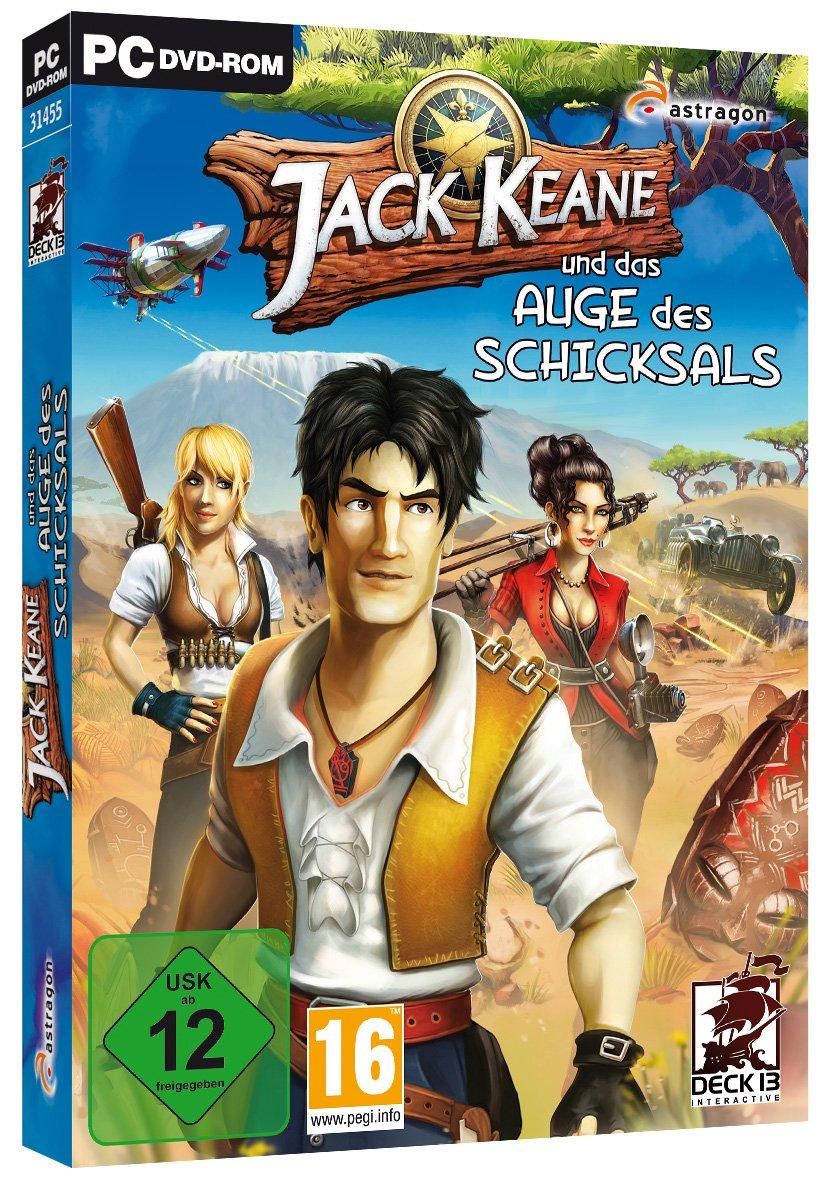 Jack Keane 2 Cover
