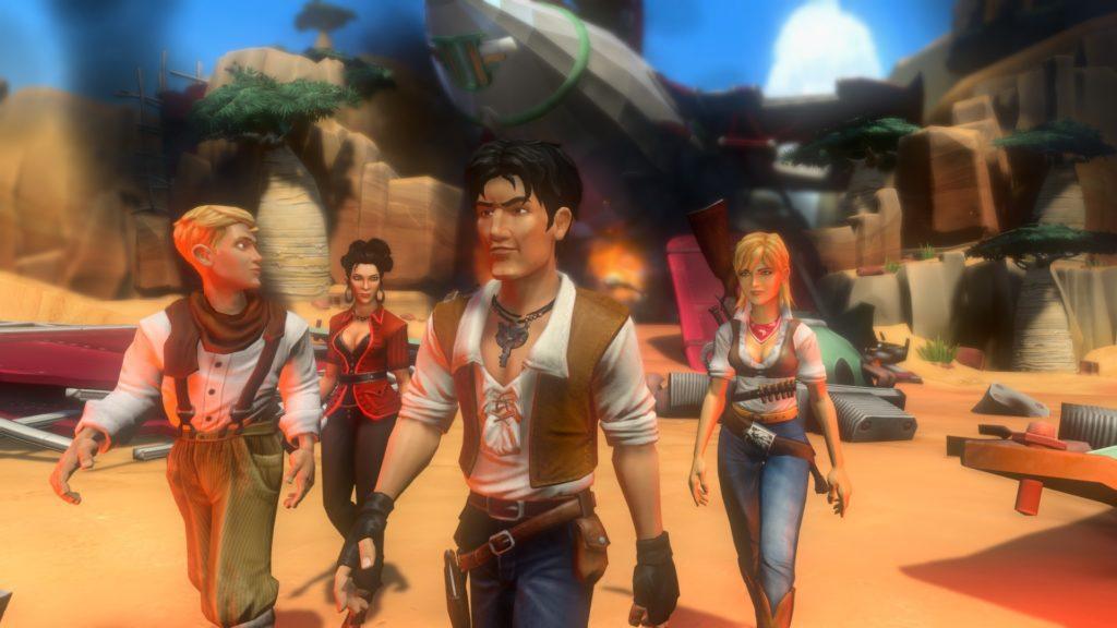 Jack Keane 2 Screenshot