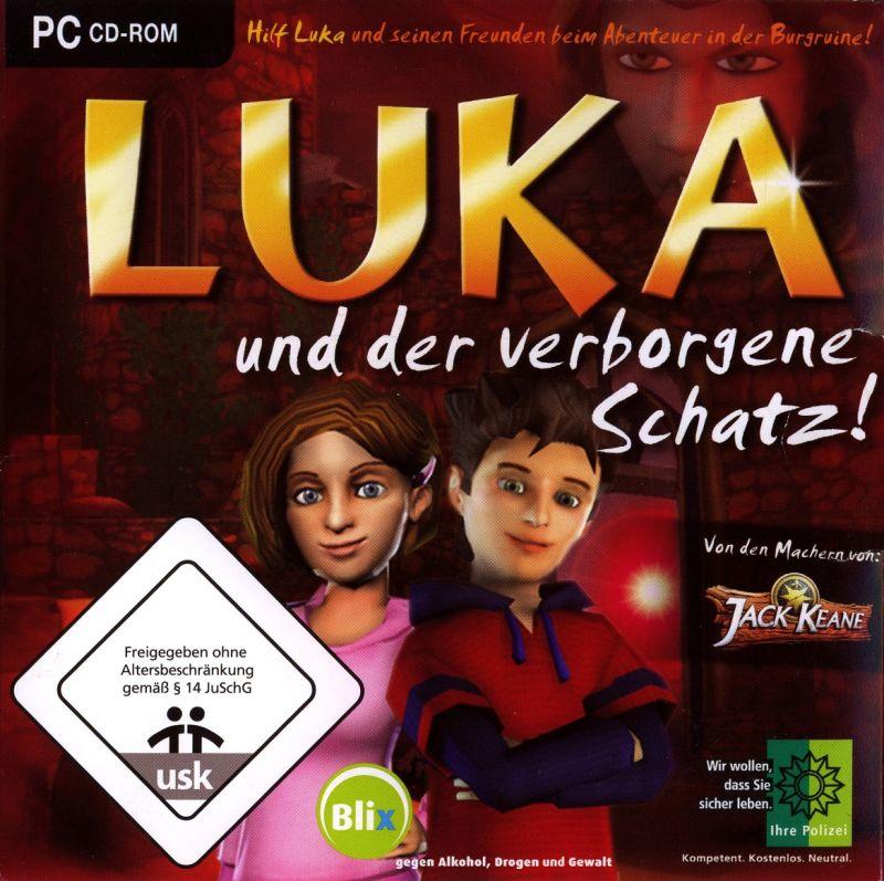Luka und der verborgene Schatz - Cover
