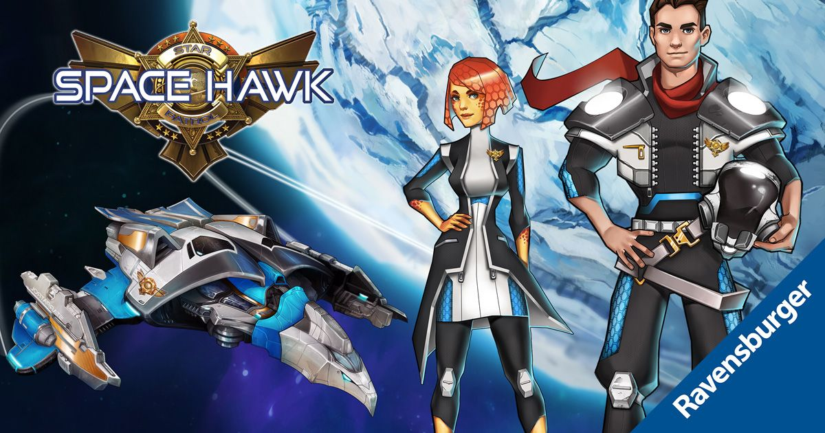Space Hawk Cover