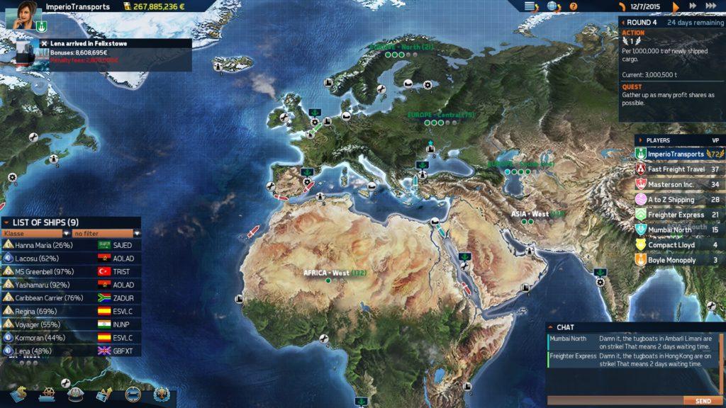 TransOcean 2 Screenshot