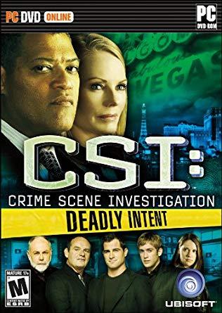 CSI Tödliche Absichten Cover