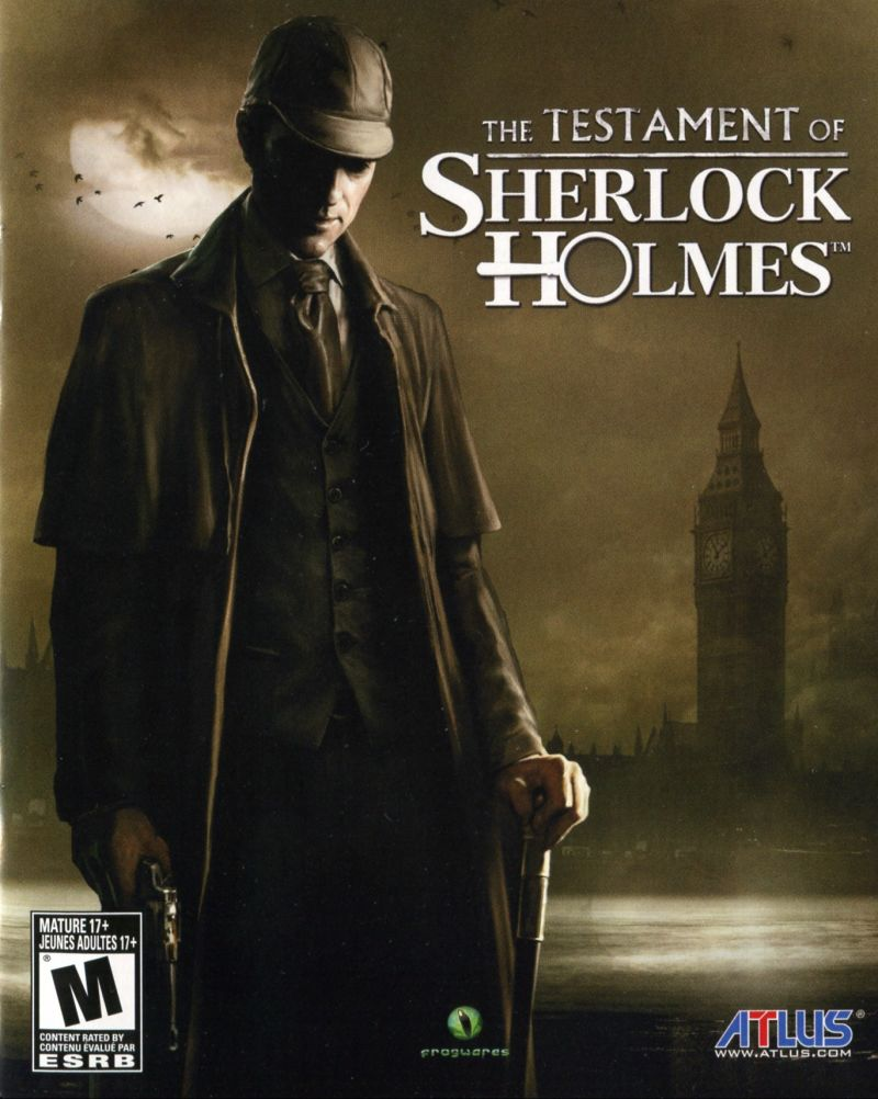Das Testament des Sherlock Holmes Cover