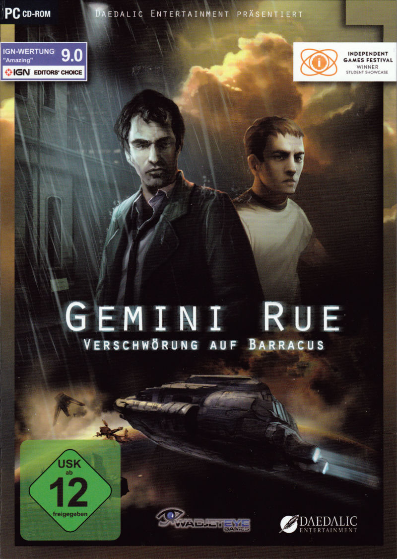 Gemini Rue Cover