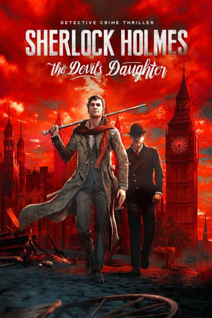 Sherlock Holmes Devils Daughter Cover