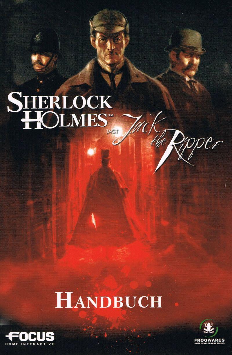 Sherlock Holmes jagt Jack the Ripper Cover