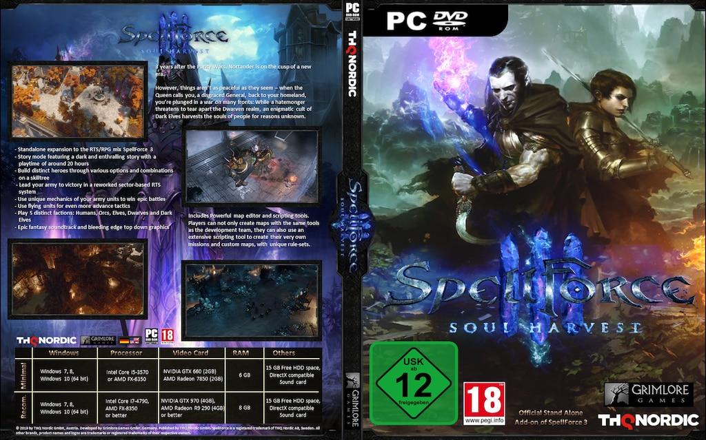 Spellforce 3 Soul Harvest Cover