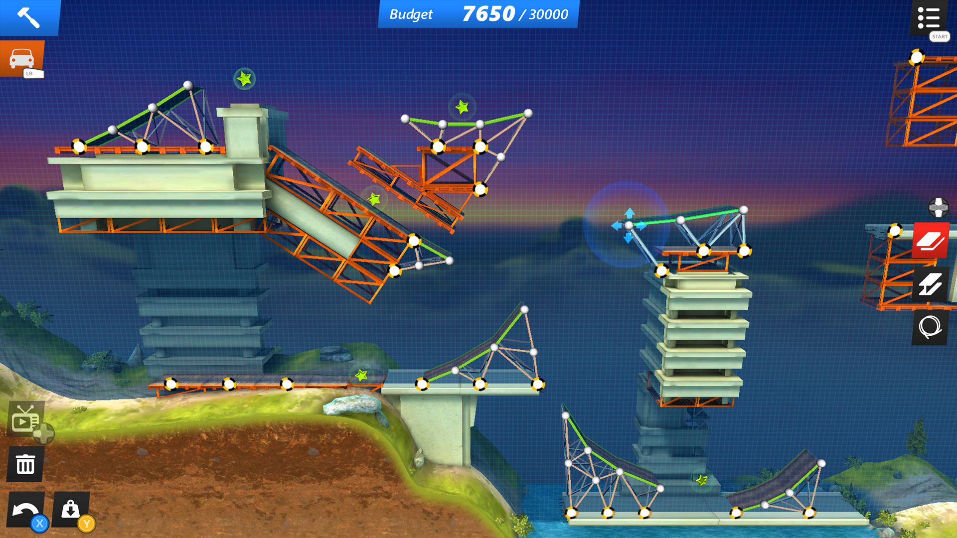 Bridge Constructor Stunts2