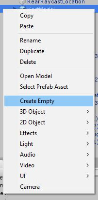Create Empty GameObject