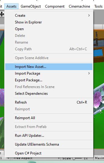Import Assets