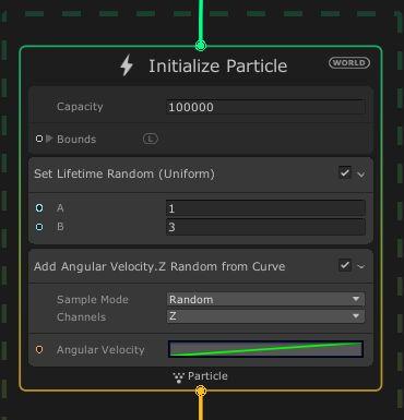 Add Angular Velocity