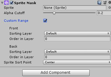 Sprite Mask Benutzerdefiniert