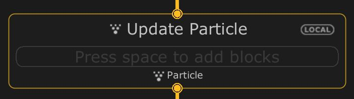 Update Particle
