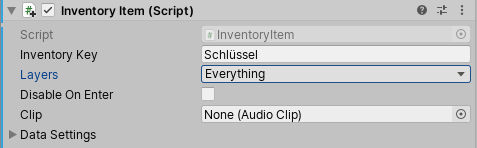 Inventory Key
