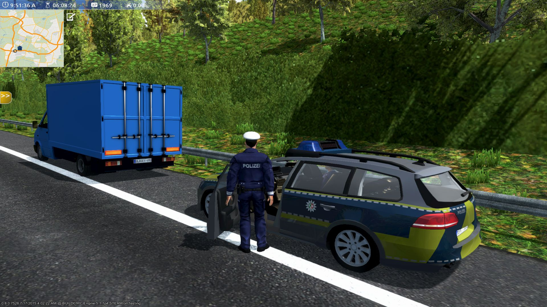 Autobahn Policesimulator