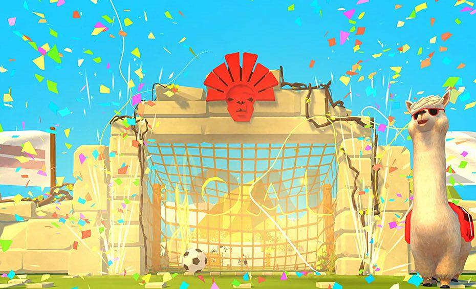 Alpacca-Fußball-Cover