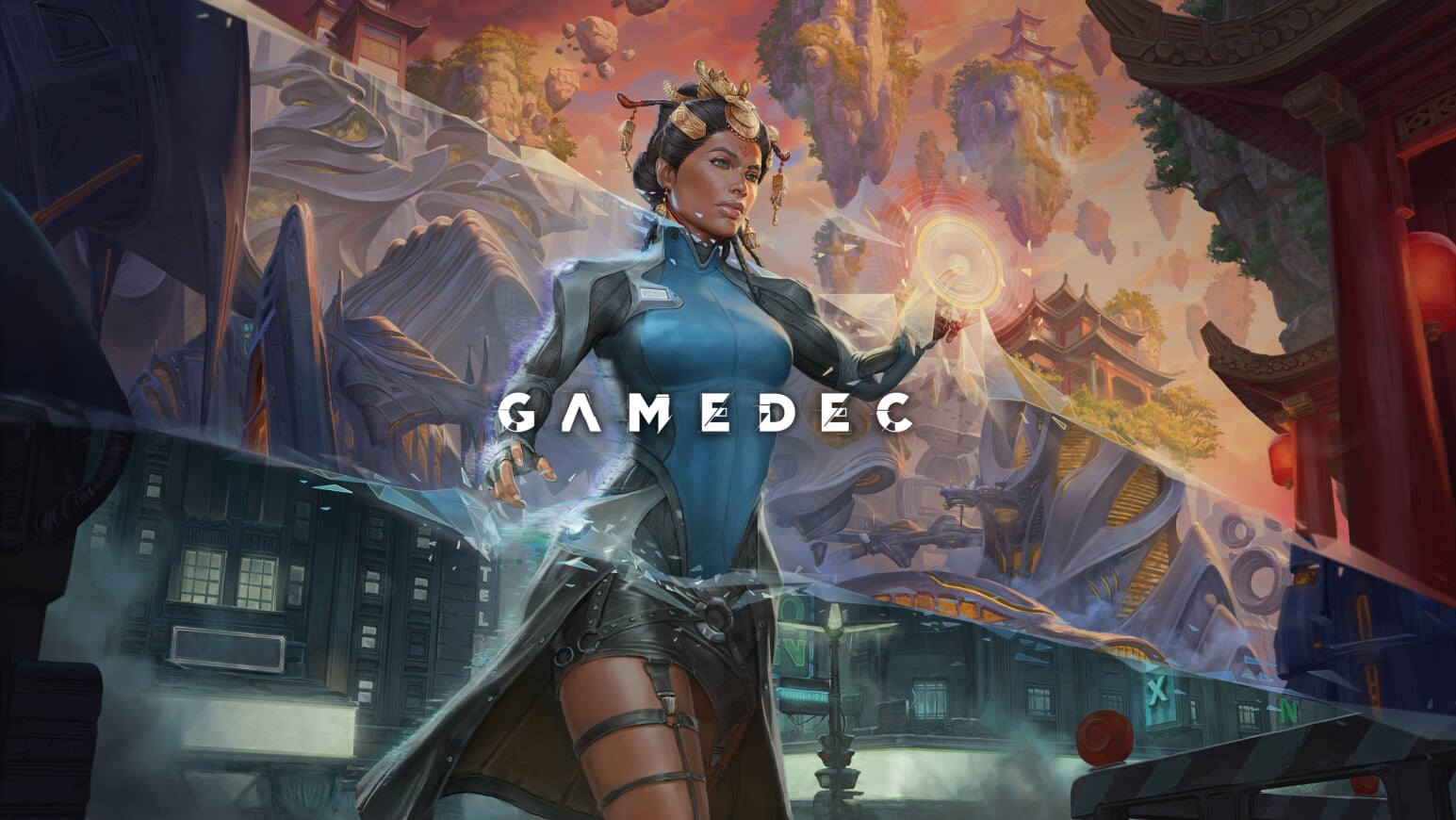 Gamedec Promoart