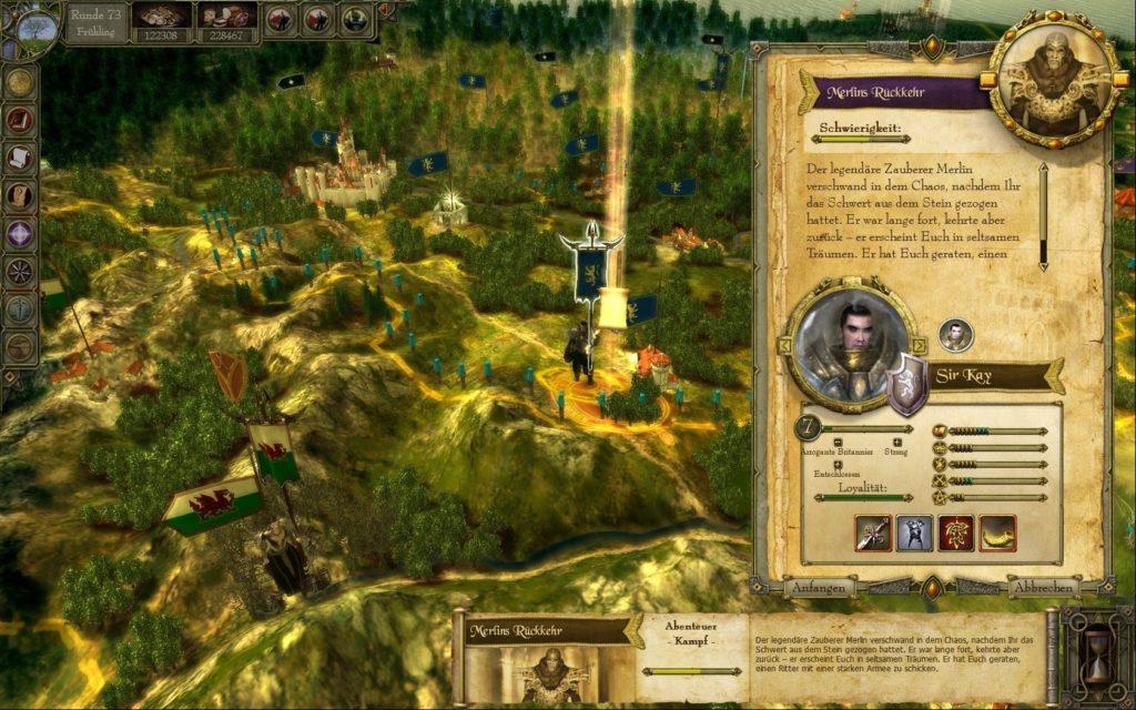 King Arthur Screenshot