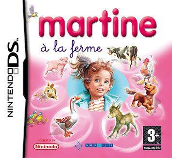 Martine à la farme DS Cover