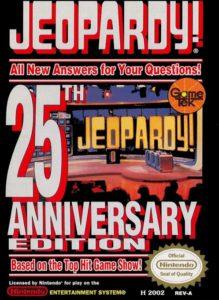 Jeopardy NES-Version 25