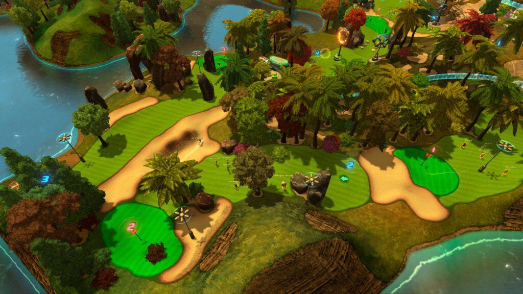 Golftopia Screenshot